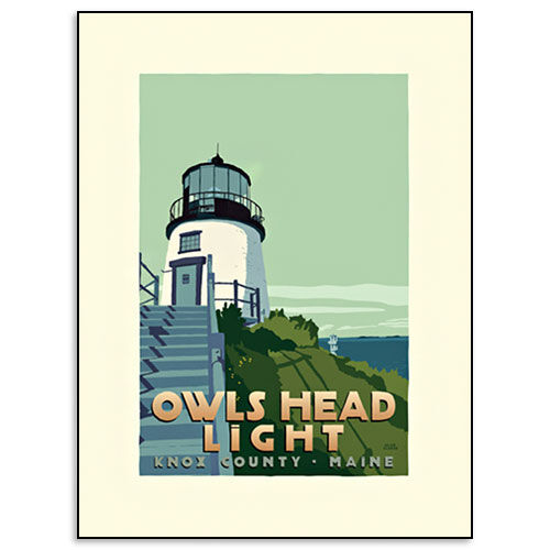 Owls Head Lighthouse Print