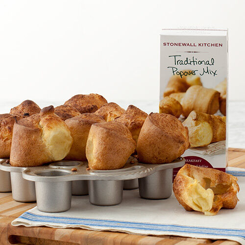 Petite Popover Pan with Popover Mix
