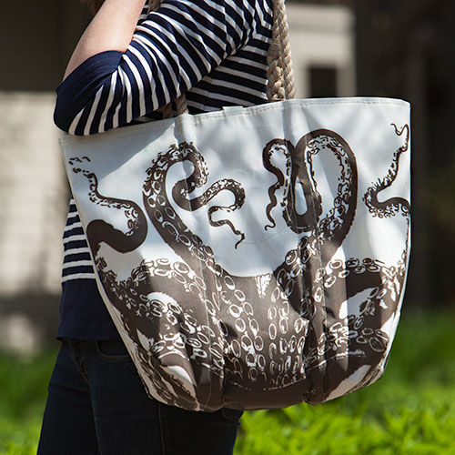Octopus Tote - Medium
