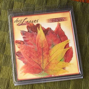 Fall Deco Leaves