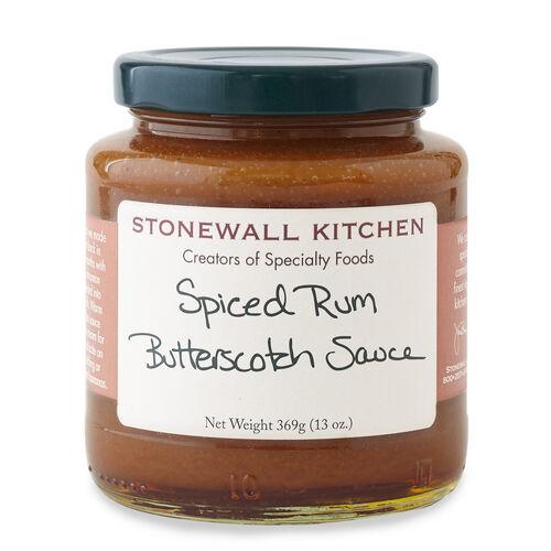 Spiced Rum Butterscotch Sauce