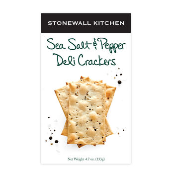 Sea Salt & Pepper Deli Cracker