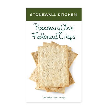 Rosemary Olive Flatbread Crisps