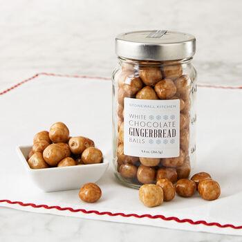 White Chocolate Gingerbread Balls
