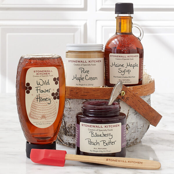 Stonewall Kitchen Sweet Breakfast Toppings Gift
