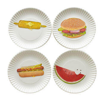 Summertime Melamine Plates - Assorted