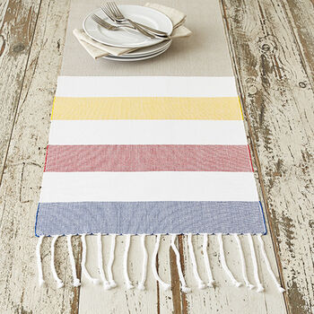 Summer Stripe Runner