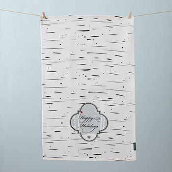 Birch Bark Tea Towel