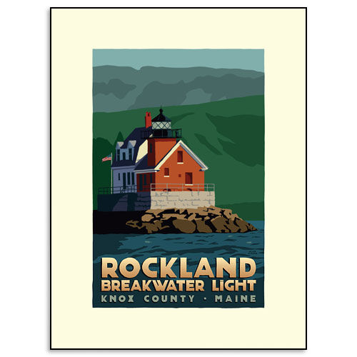 Dream Kitchen Rockland Maine: Rockland Breakwater Lighthouse