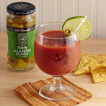 Vodka Jalapeno Tipsy Olives