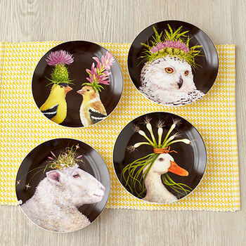 Wild & Wooly Plate Assortment