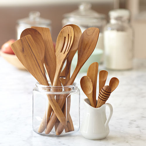 Kitchen Hand Tools And Their Uses With Pictures: Teak Wood Utensils