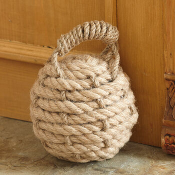 Nautical Knot Rope Doorstop