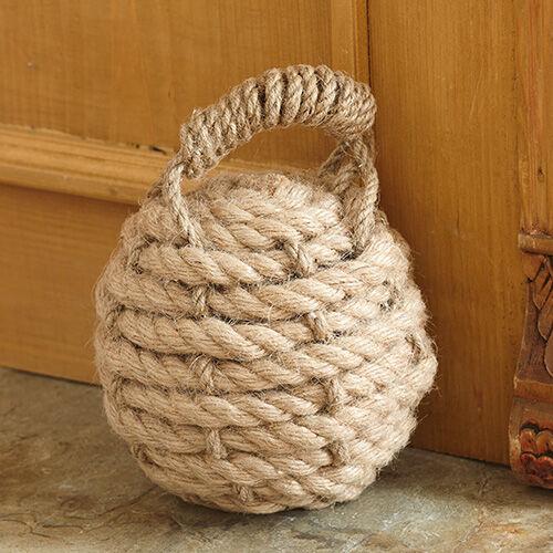 Nautical Knot Rope Doorstop