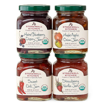 Our Organic Jam Collection