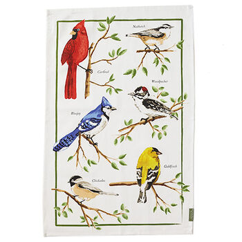Songbirds Tea Towel