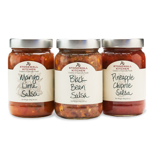 Salsa Collection Snacks Stonewall Kitchen