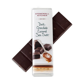 Dark Chocolate Filled with Caramel & Sea Salt Bar