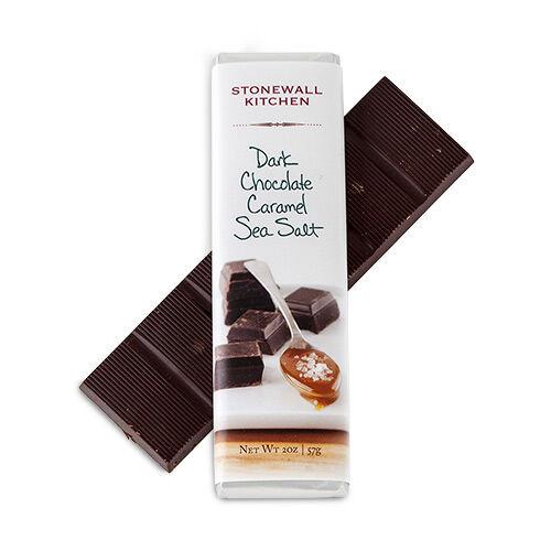 Dark Chocolate Filled with Caramel & Sea Salt Bar