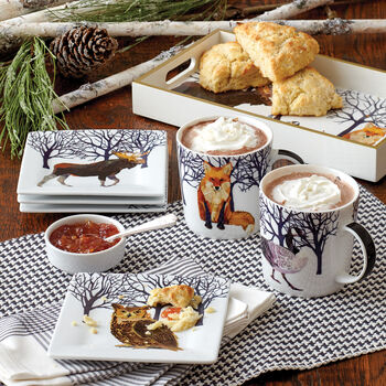 Forest Friends Dinnerware