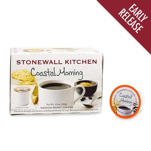 Coastal Morning Coffee Single Serve Cups 12 Pack Stonewall Kitchen