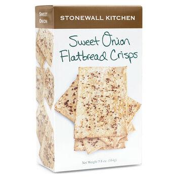 Sweet Onion Flatbread Crisps