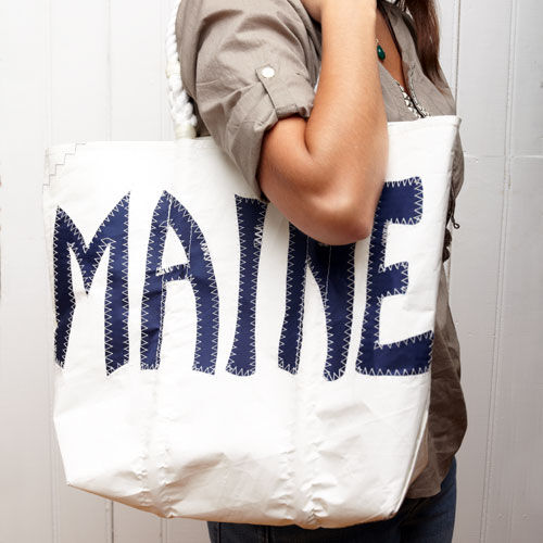 Medium Maine Tote - Navy