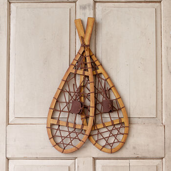 Vintage Style Snowshoes