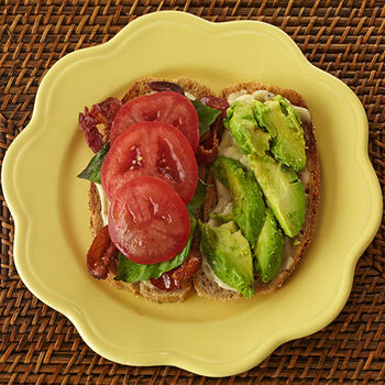 Bacon, Spinach, Tomato & Avocado Sandwich