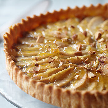 Lemon Pear Tart