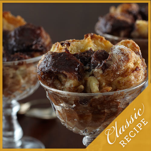 Bittersweet Chocolate Bread Pudding | Recipes | Stonewall Kitchen