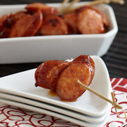Hot Pepper Jelly Kielbasa Appetizer