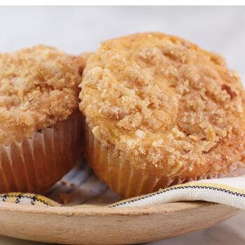 Apricot Cheesecake Muffins