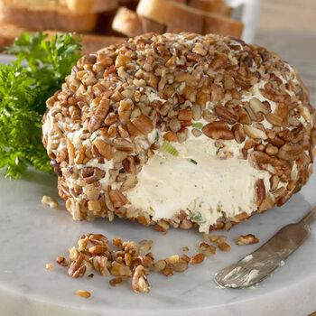 Blue Cheese Herb Mustard Cheeseball