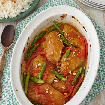 Apricot Ginger Chicken