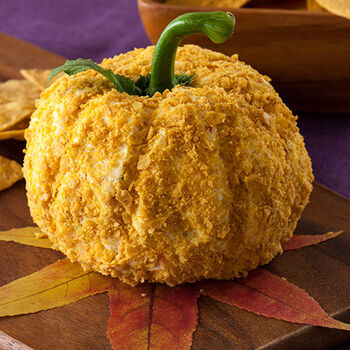 Habanero Mango Pumpkin Shaped Cheese Ball