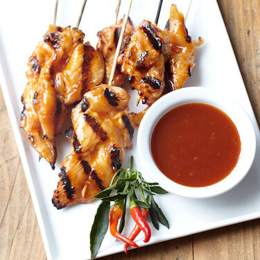 Barbecue Chicken Satay
