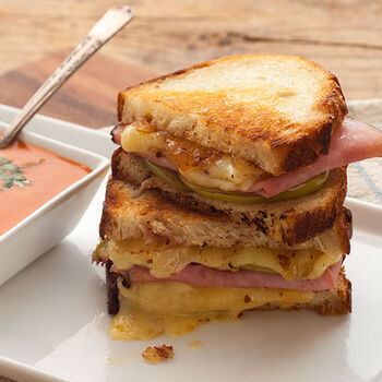 Savory Grilled Cheese Sandwich