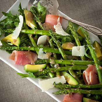 Asparagus and Prosciutto Salad