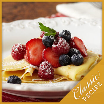 Lemon Cream & Berry Crepes