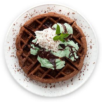 Grasshopper Waffle