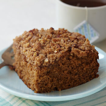 Maple Applesauce Cake