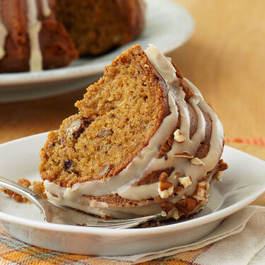 Maple Applesauce Coffee Cake
