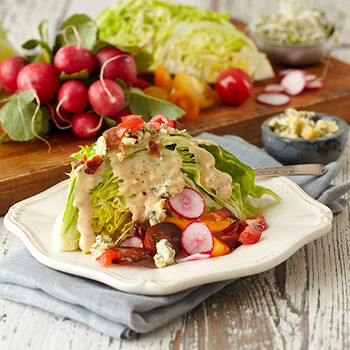 Bacon Ranch Wedge Salad