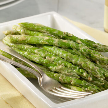 Blue Cheese Herb Mustard Asparagus