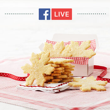 """""""Holiday Baking"""" Facebook Live Event"""