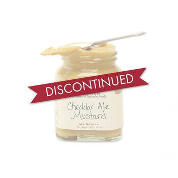 Cheddar Ale Mustard