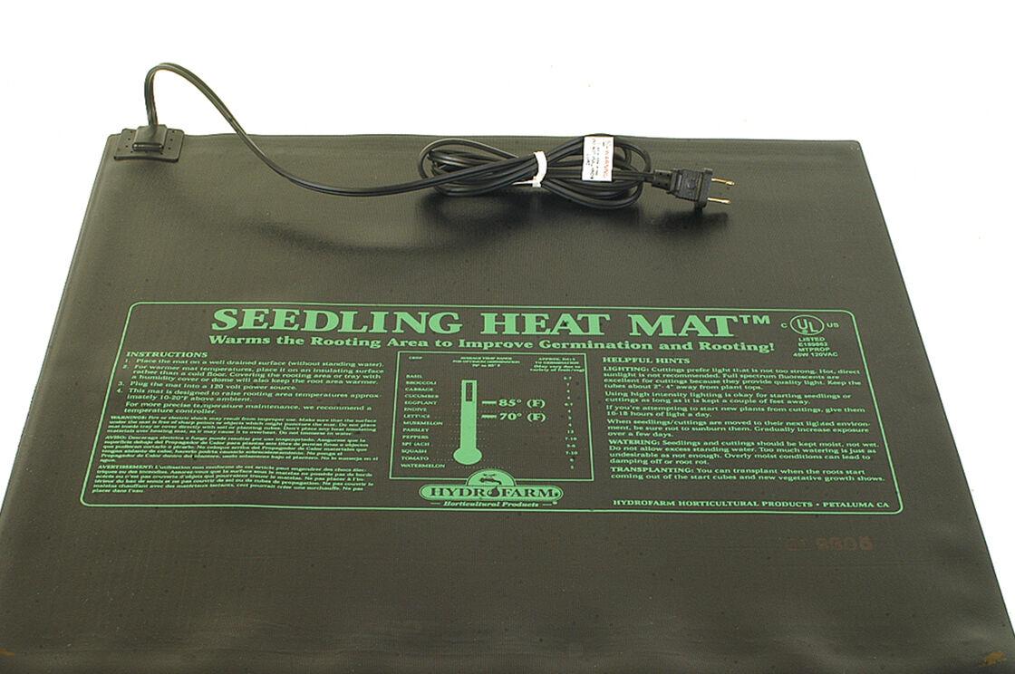 Hydrofarm Seedling Heat Mat 9 Quot X 19 1 2 Quot 17 Watts