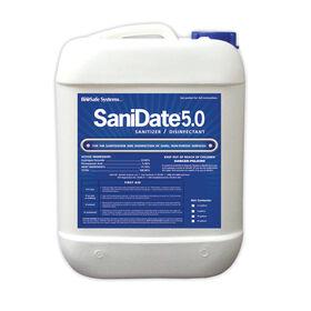 SaniDate® 5.0 Liquid Sanitizer - 2-1/2 Gal. Fungicides