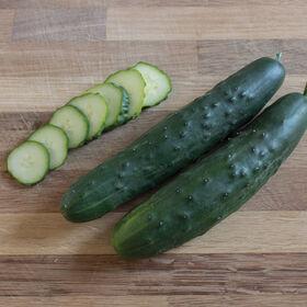 Olympian Slicing Cucumbers
